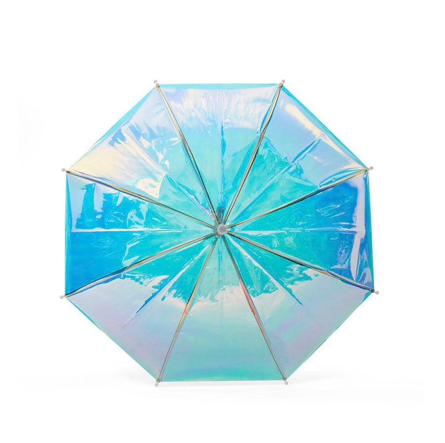 Hipster Kid - Holographic Umbrella