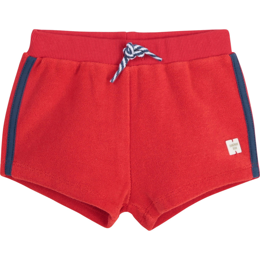 Carrement Beau - Terry Shorts w/ Trim Sides