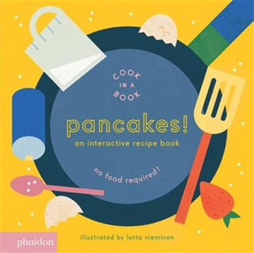 Interactive Recipe Book - Cook in a Book (Pancakes)