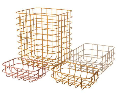 Maileg-Basket 4 pcs (No. 2)