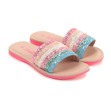 Billie Blush - Multicolor Slides 2