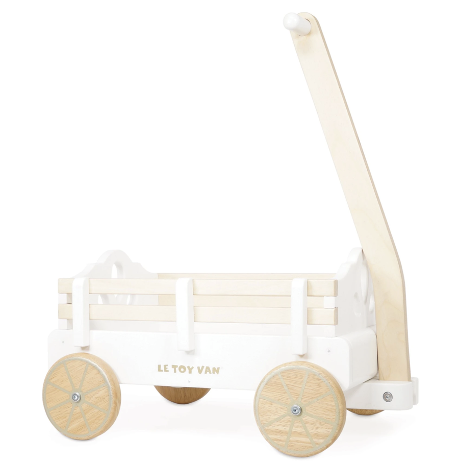 Le Toy Van - Pull Along Wooden Wagon