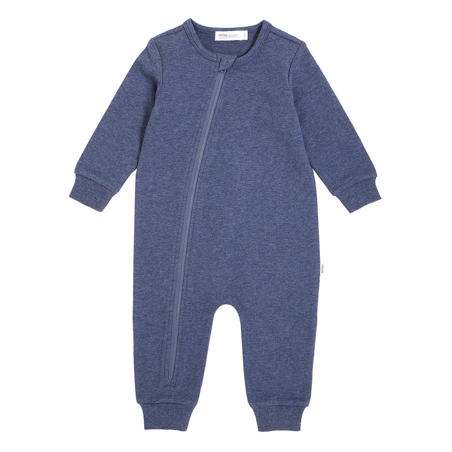 Miles Baby - Baby Playsuit Knit - Royal