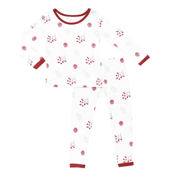 Kyte baby - Pajama Set - Holly Berry