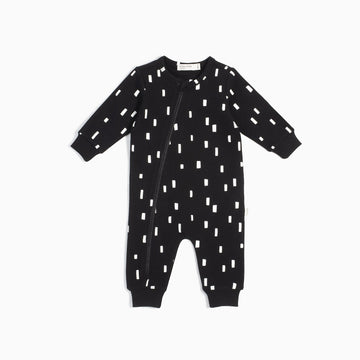 Miles Baby - Play blocks playsuit - black