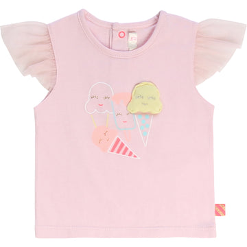 Billieblush - Ice cream tee shirt - pink