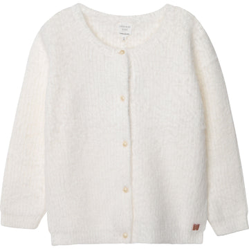 Carrement Beau - Fluffy Cardigan - Ivory