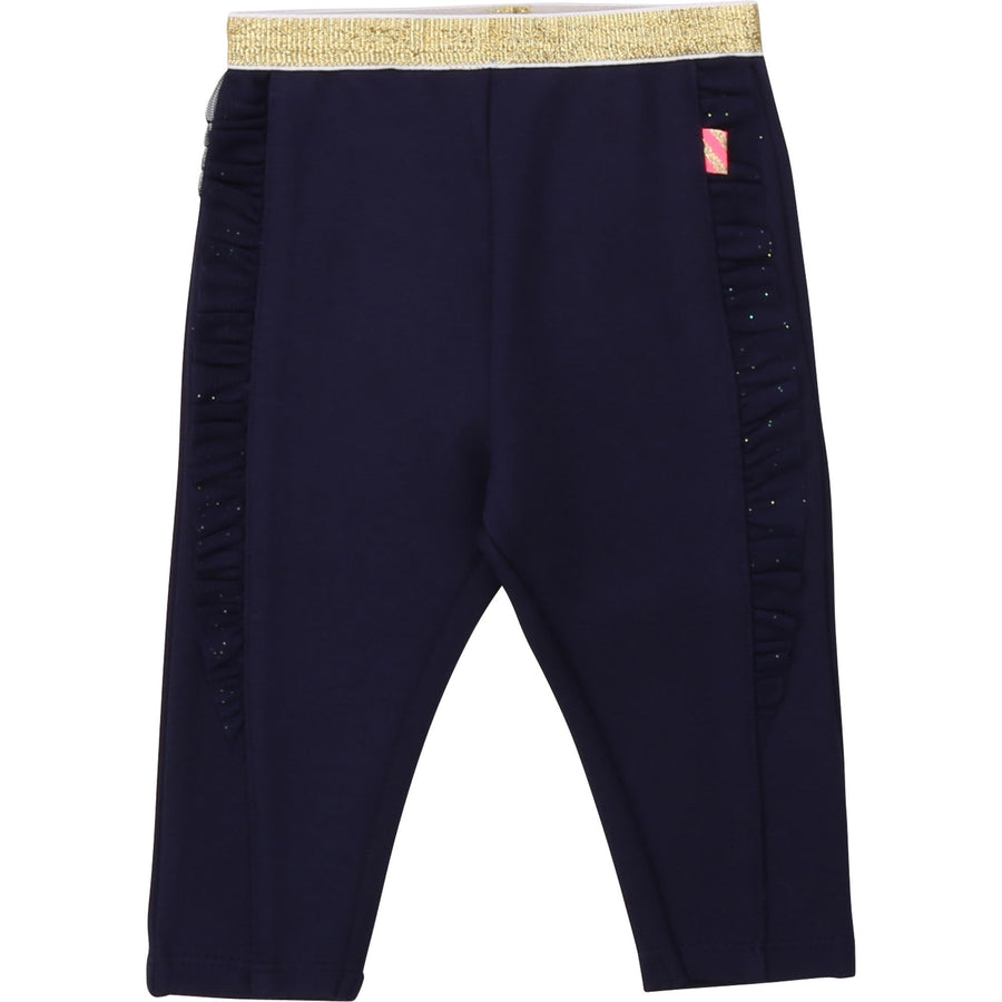 Billieblush - Navy and Gold Joggers