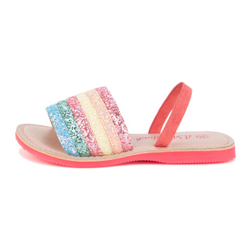 Billie Blush - Multicolor Slides