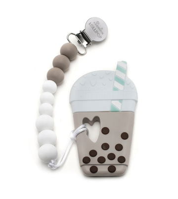 Loulou- lollipop Milk tea bubble tea teether set