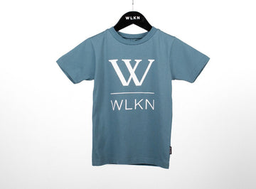 WLKN - Junior Basic Logo T-shirt - Slate Blue