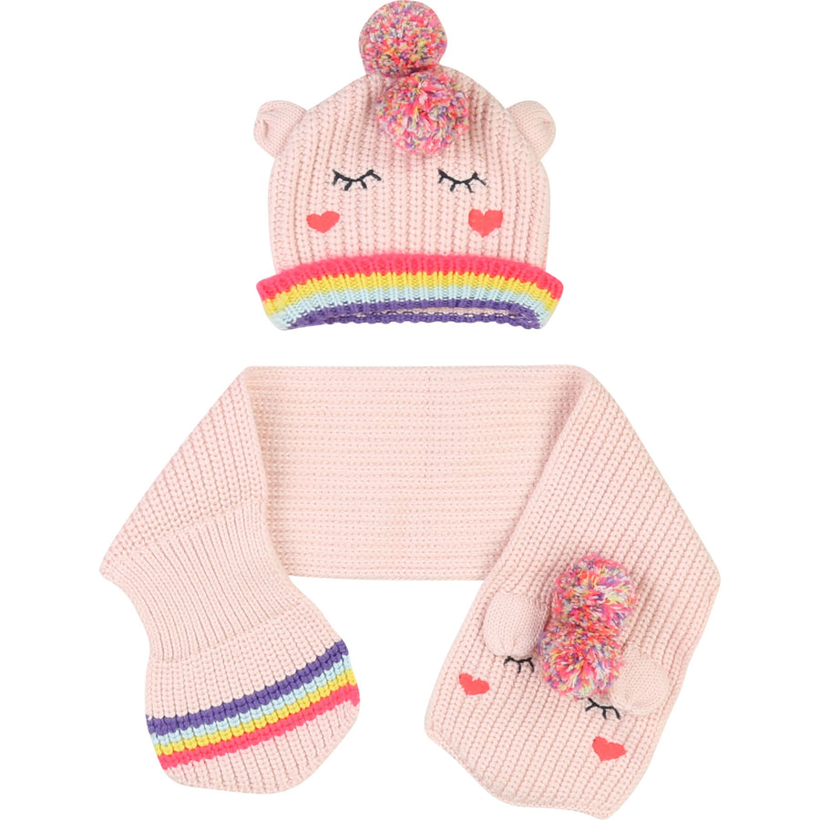 Billie Blush - unicorn hat and scarf