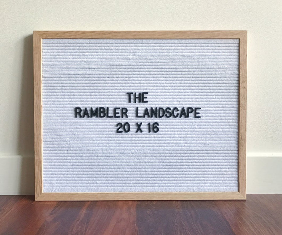 The Rambler (Portrait & Landscape)