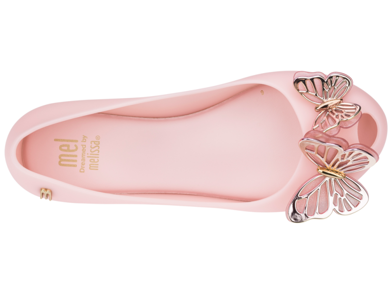 Mel - Ultragirl Fly Shoe Pink/Gold