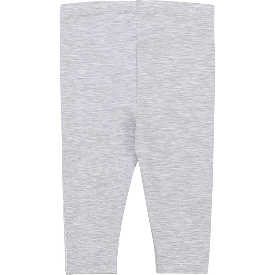 Billieblush - Heart leggings - grey