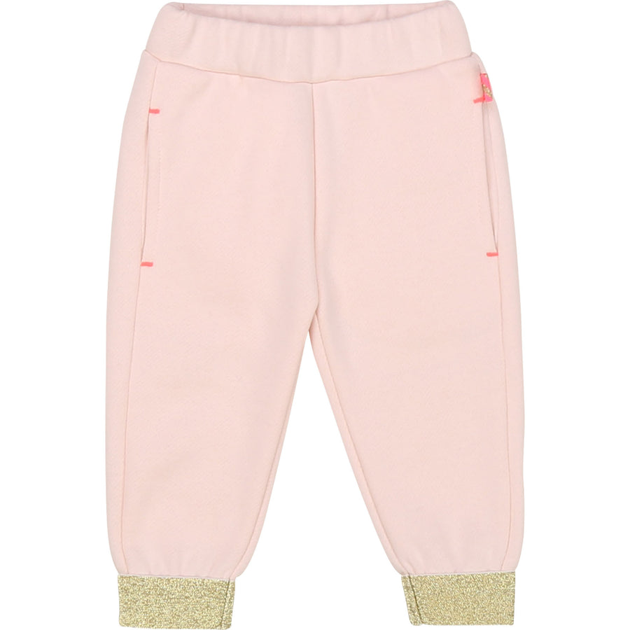 Billieblush - 2pc pink and gold tracksuit