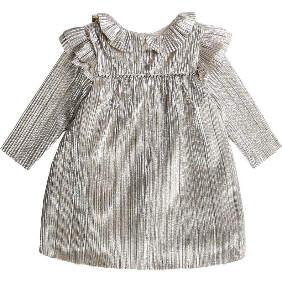 Carrement Beau - Baby Ceremony Dress - Silver