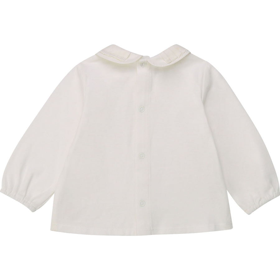 Carrement Beau - Collared Longsleeve - Off white