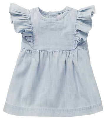 Noppies - Dress SS Magog (Light Blue Denim)