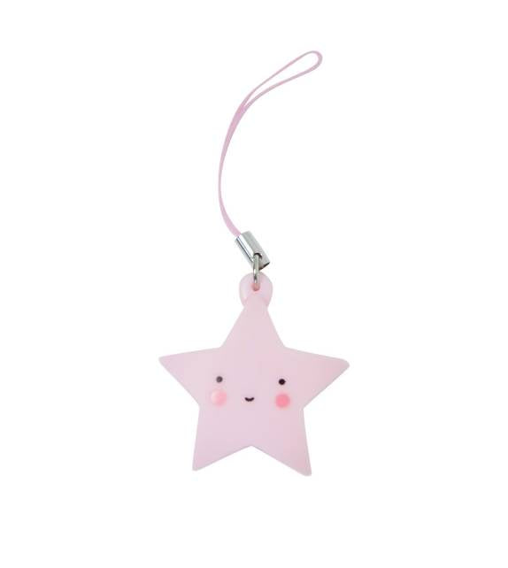 A little lovely Company - charm (pink star)