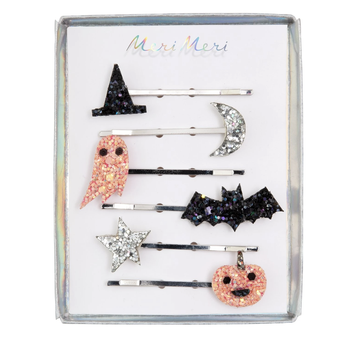 Meri Meri - Halloween Icons Glitter Hair slides