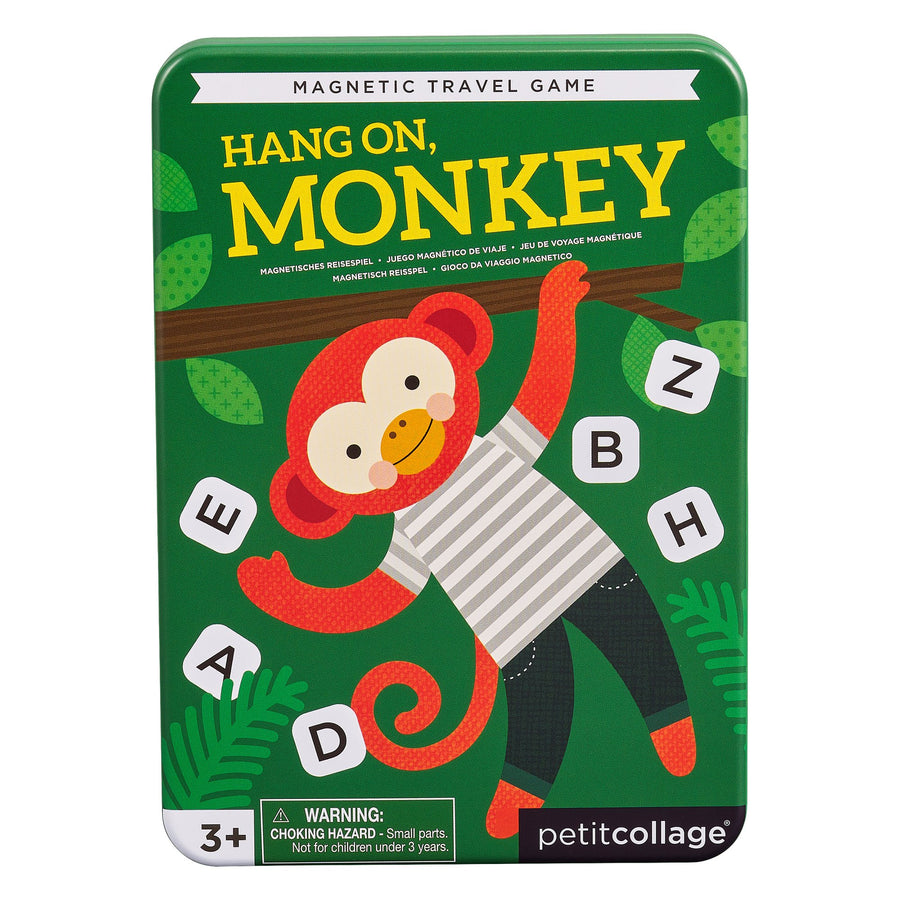 Petit Collage - Magnetic Travel Game - Hangon Monkey