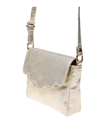 Rockahula - Gold Scallop Party Bag/Purse