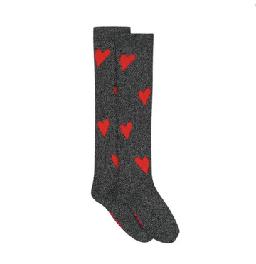 Sonia Rykiel - Knee-high Socks (Heart)