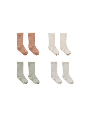 Quincy Mae - Baby Socks - 4 pack