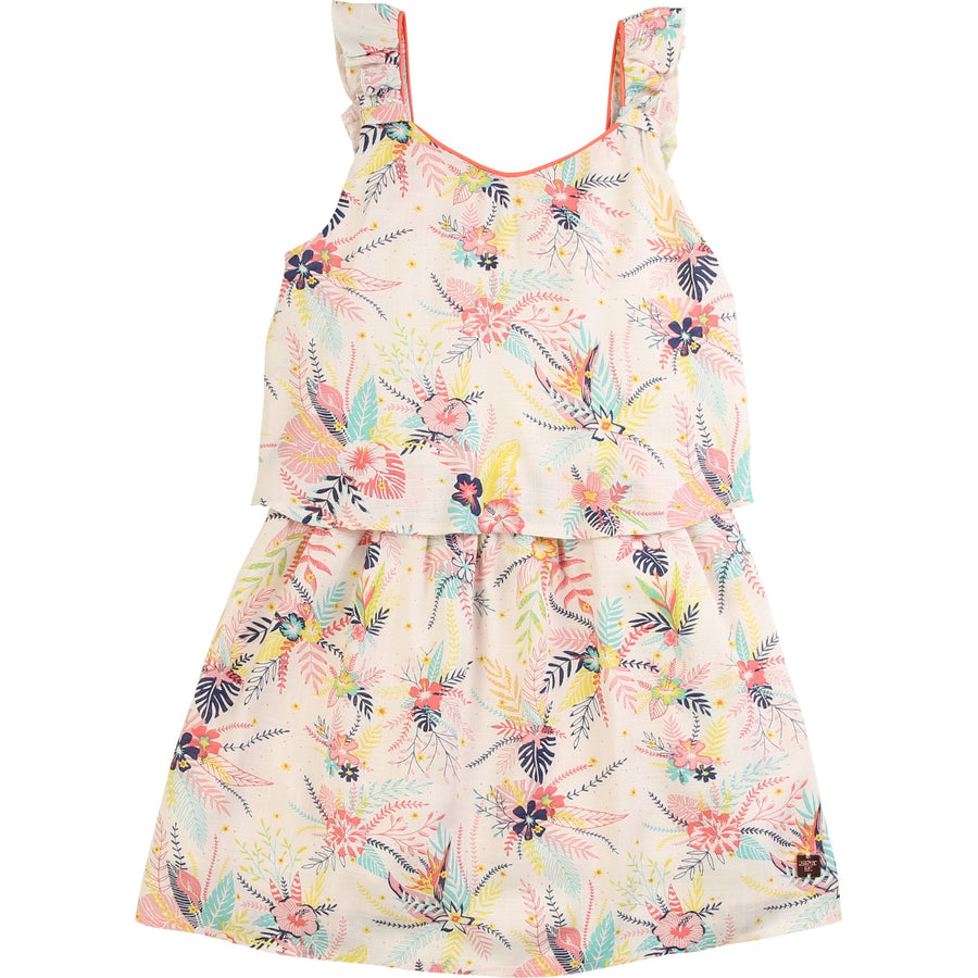 Carrement Beau - Ivory floral print dress