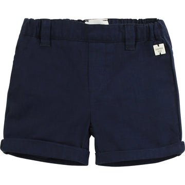 Carrement Beau - navy cargo shorts