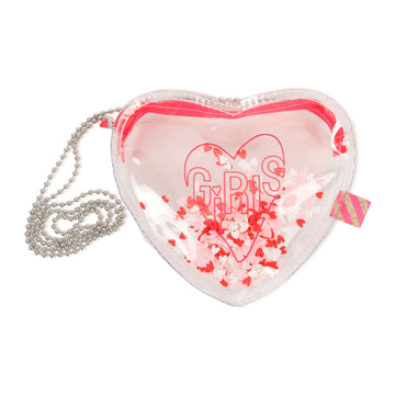 Billie Blush - Heart Handbag w/ Glitter