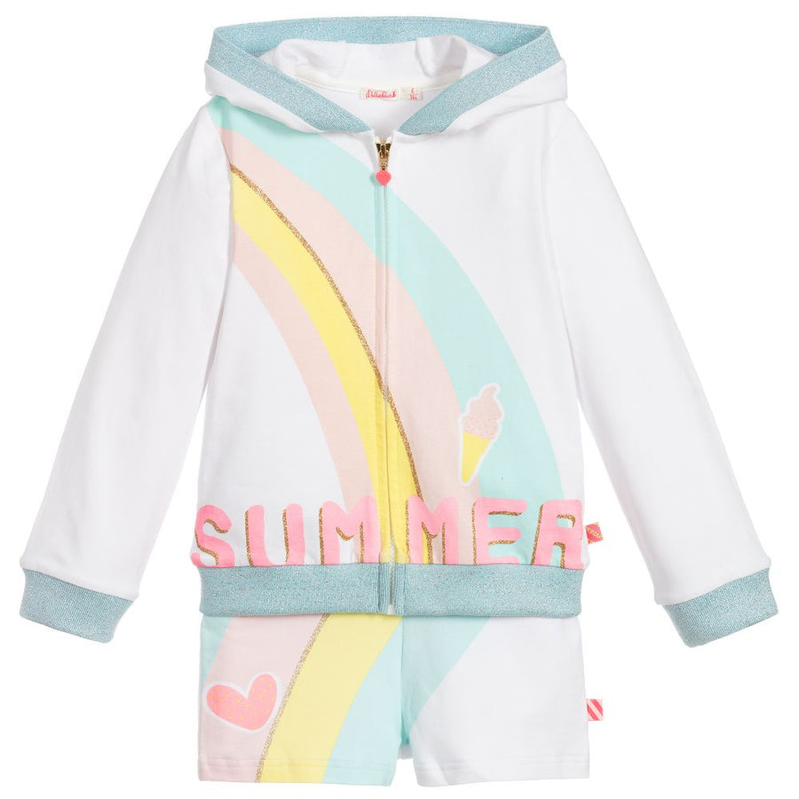 Billieblush - Summer hooded 2pc track suit