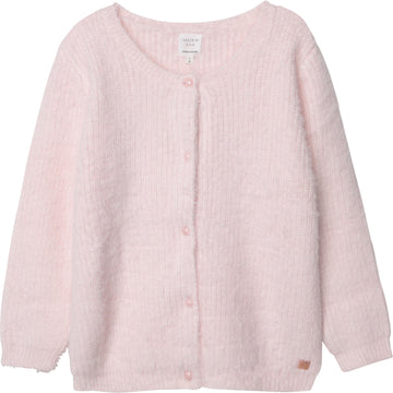 Carrement Beau - Fluffy Cardigan - Light Pink