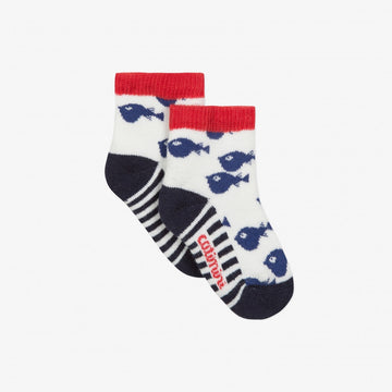Catimini - Jacquard fish socks - 6/12M