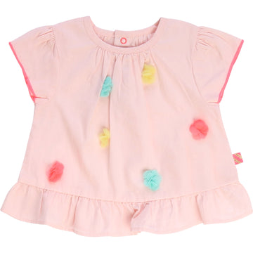 Billieblush - Blouse with pompom