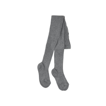 Condor Wide-Rib Basic Tights (Grey)