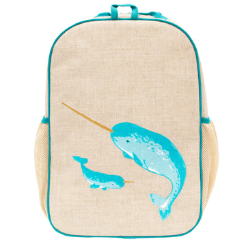 SoYoung - grade school Backpack (narwhal)