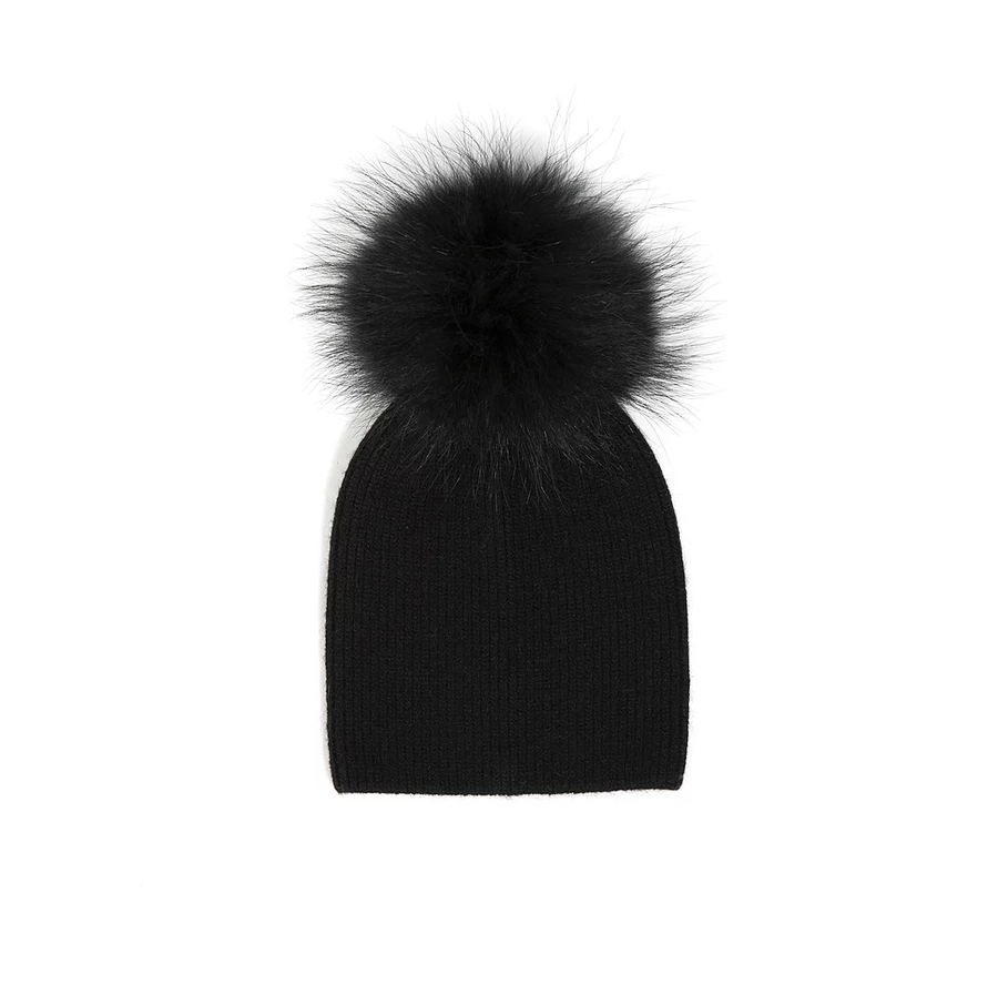Olilia - Angora Single Pom 0-18M (Black)