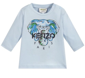 Kenzo - Light blue Elephant longsleeve