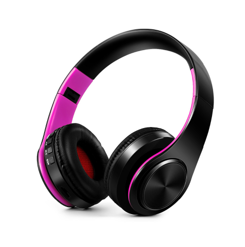 Wireless Foldable HeadPhones - Available in Purple
