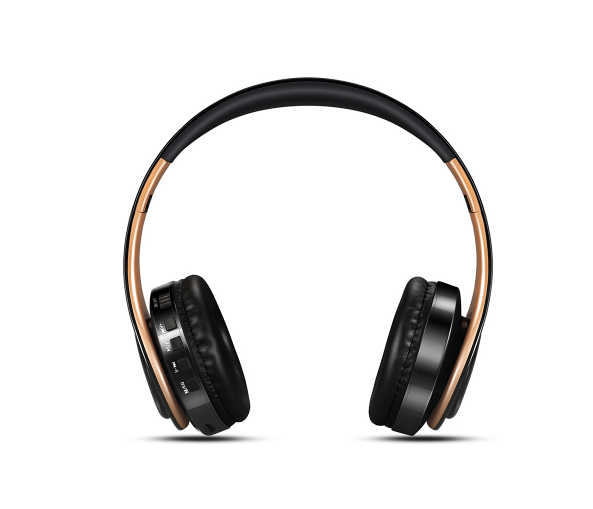 Wireless Foldable HeadPhones - Available in Golden