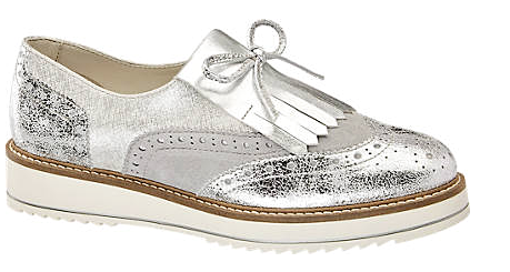 Women Silver Slip on Shoes / Loafers - New Collection