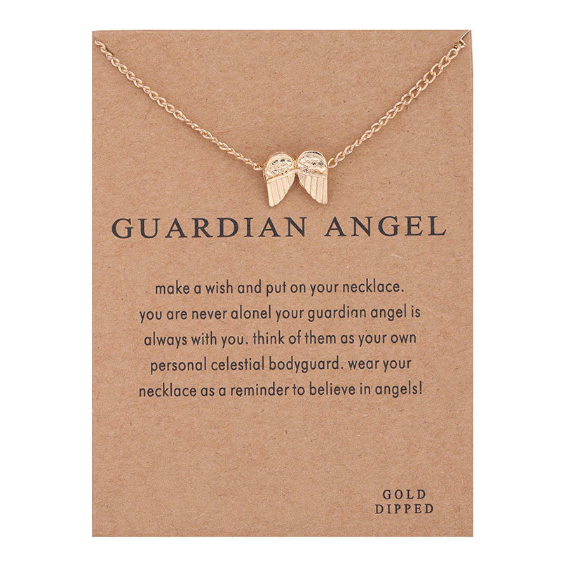 Guardian Angel Pendant Necklace I Gifts for Her I Valentines Day Gifts I Jewelry for Women