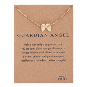 Guardian Angel Pendant Necklace I Gifts For Her I Valentines Day