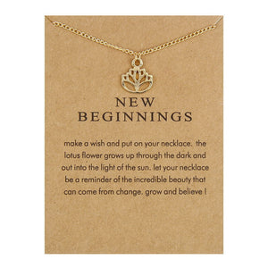 New Beginnings Pendant Necklace I Gifts for Her I Valentines Day Gifts I Jewelry for Women