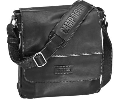 Brand David Leather Look Mens Hand Bag