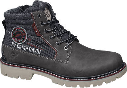 Mens Brand Camp David Boots - Grey