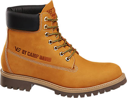 Mens Brand Camp David Caterpillar Look Boots