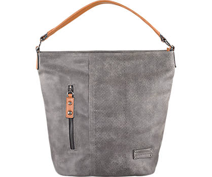 Grey Casual Hand Bag
